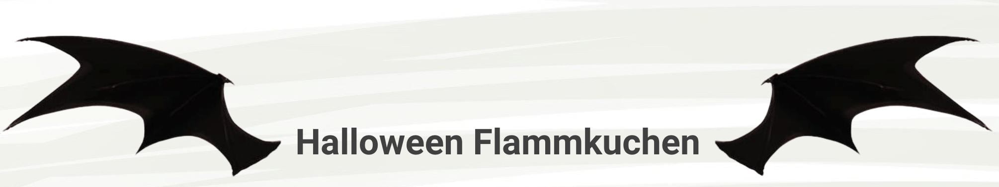 Halloween Flammkuchen