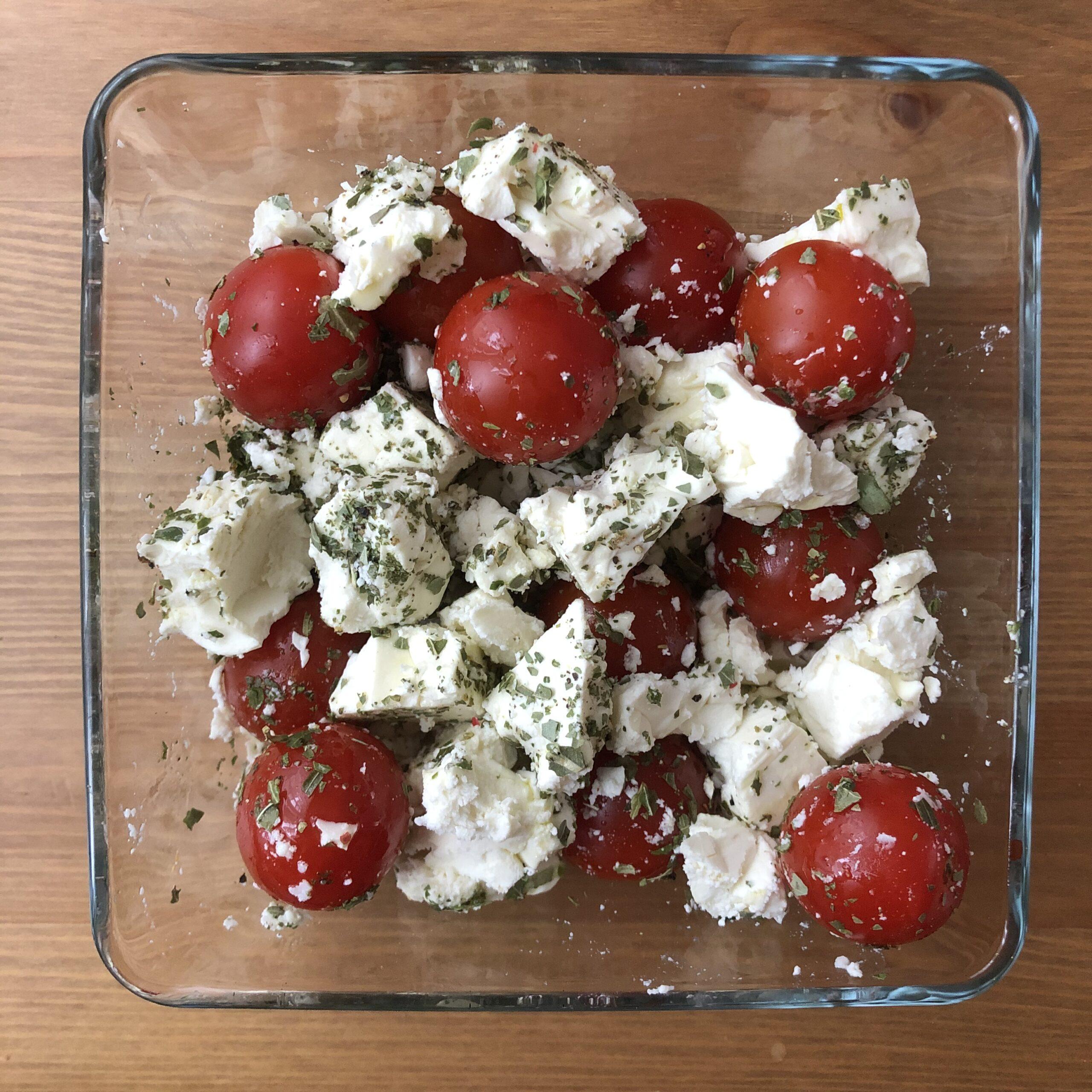 Feta mit Tomaten