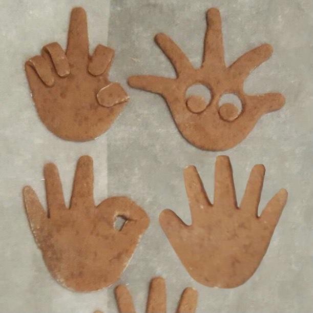 Kekse Hand