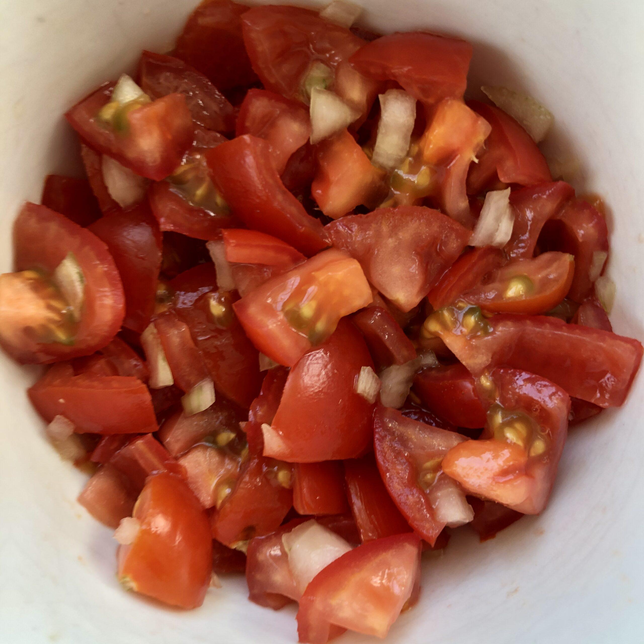 Tomaten Topping