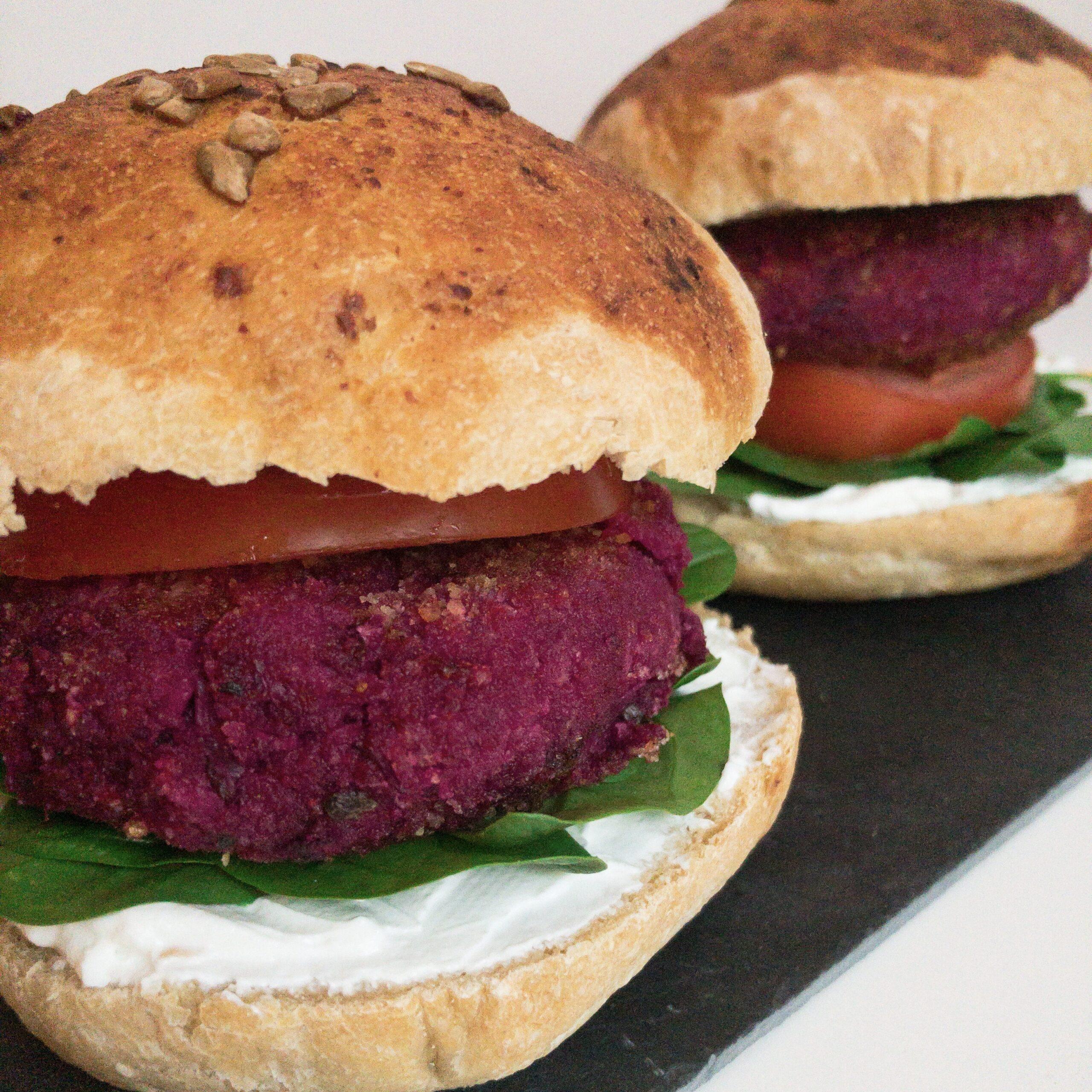 Vegane Burger Patties square
