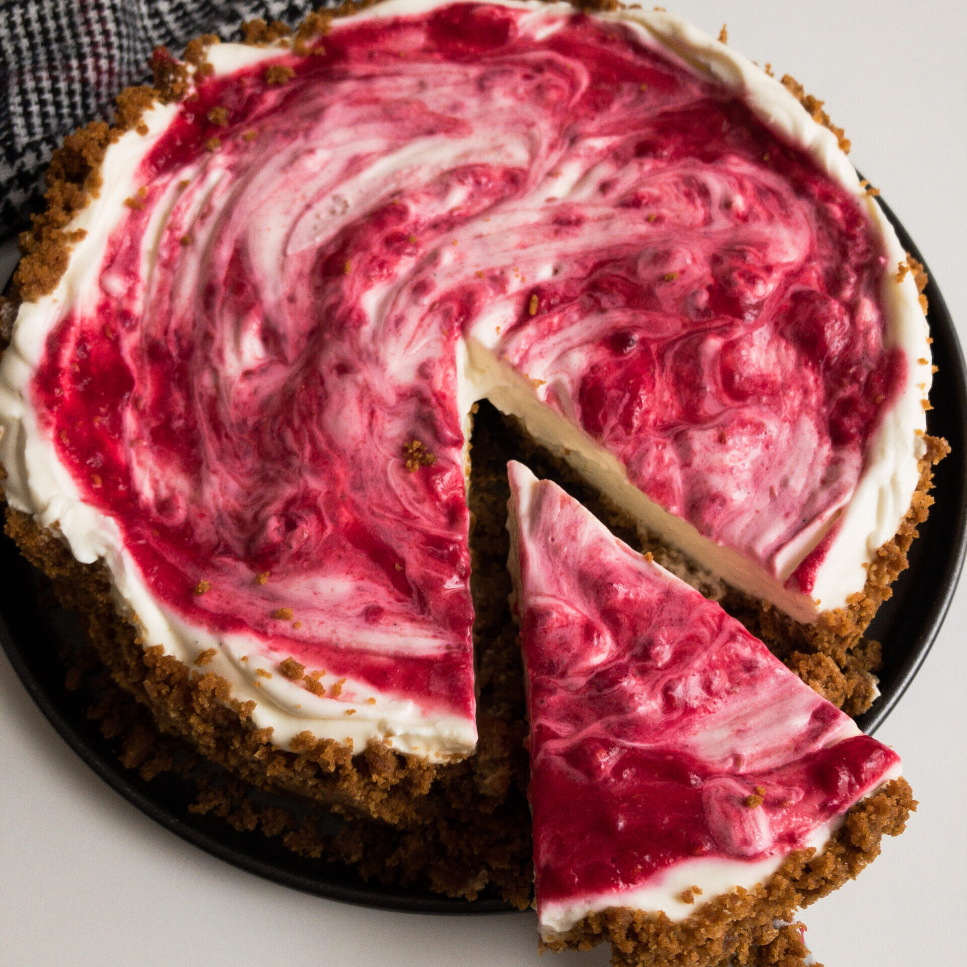 Cheesecake mit Spekulatius square