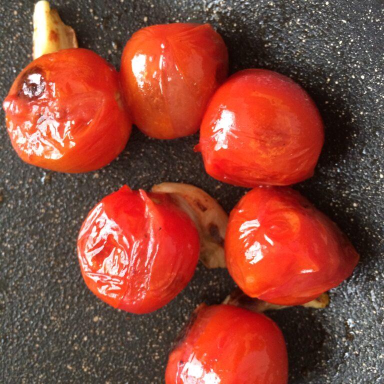 Gebratene Tomaten