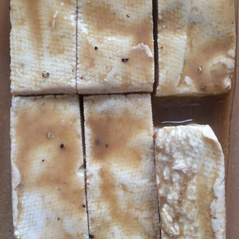 Tofu eingelegt