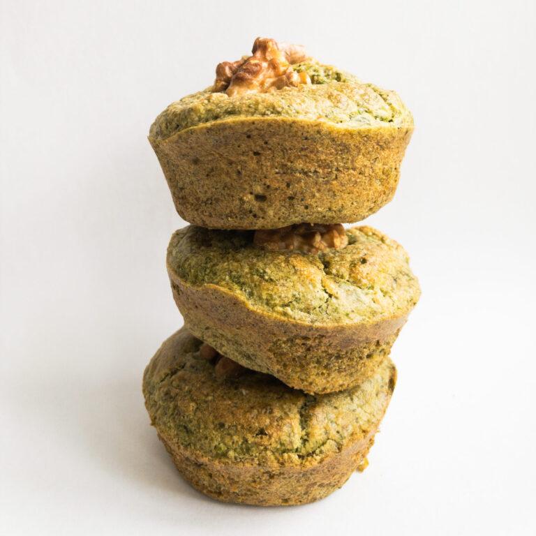 Wie macht man: Pikante Bärlauch Muffins