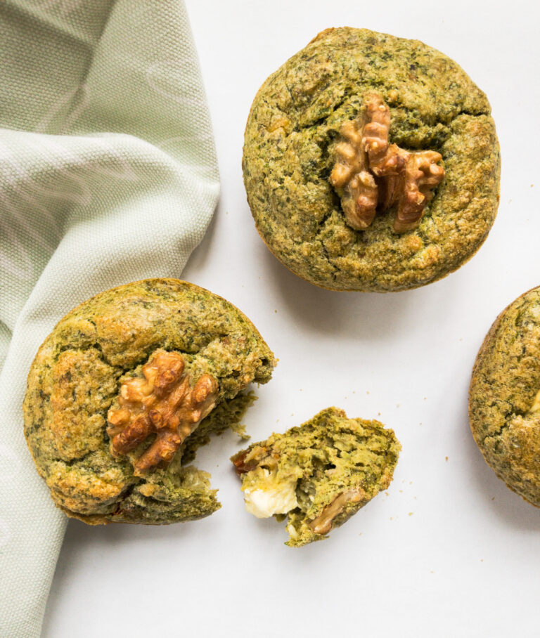 Pikante Bärlauch Muffins
