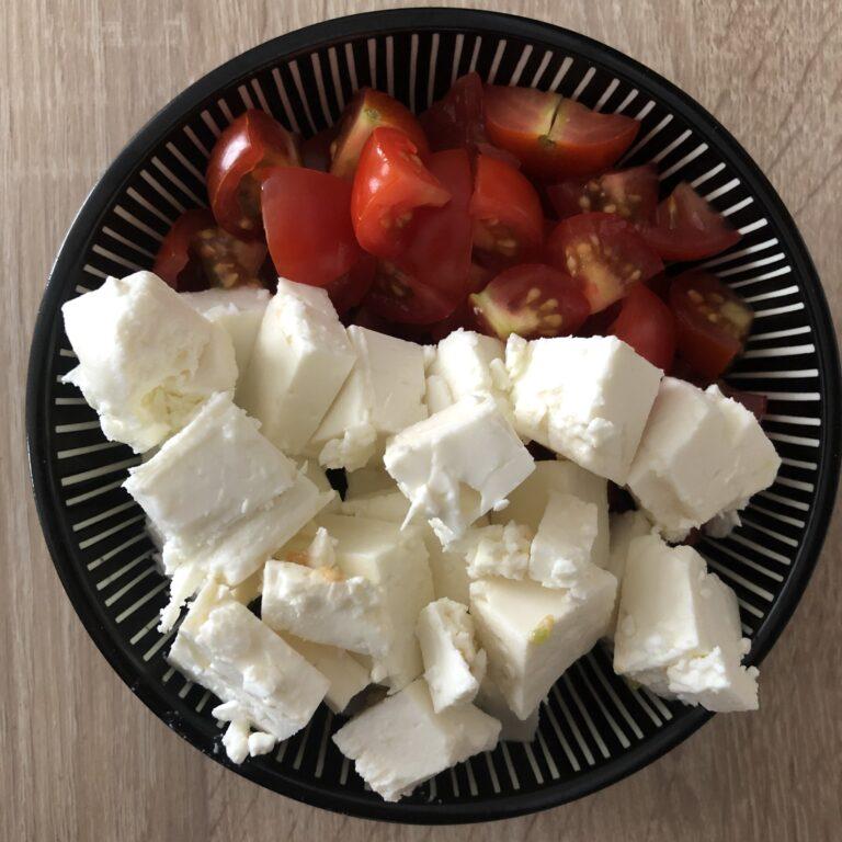 Tomaten und Feta