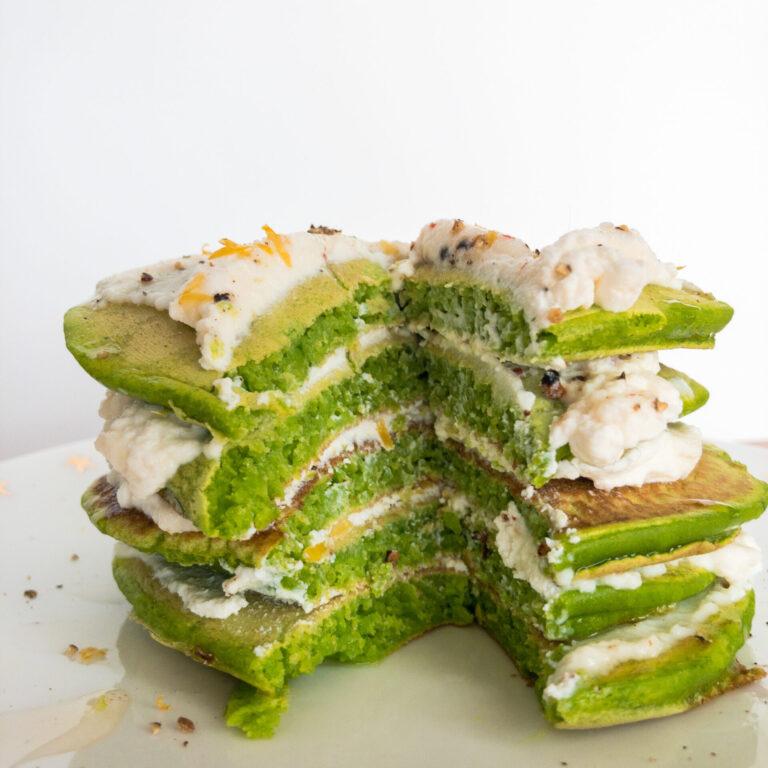 Wie macht man: Spinatpancakes mit Ricotta