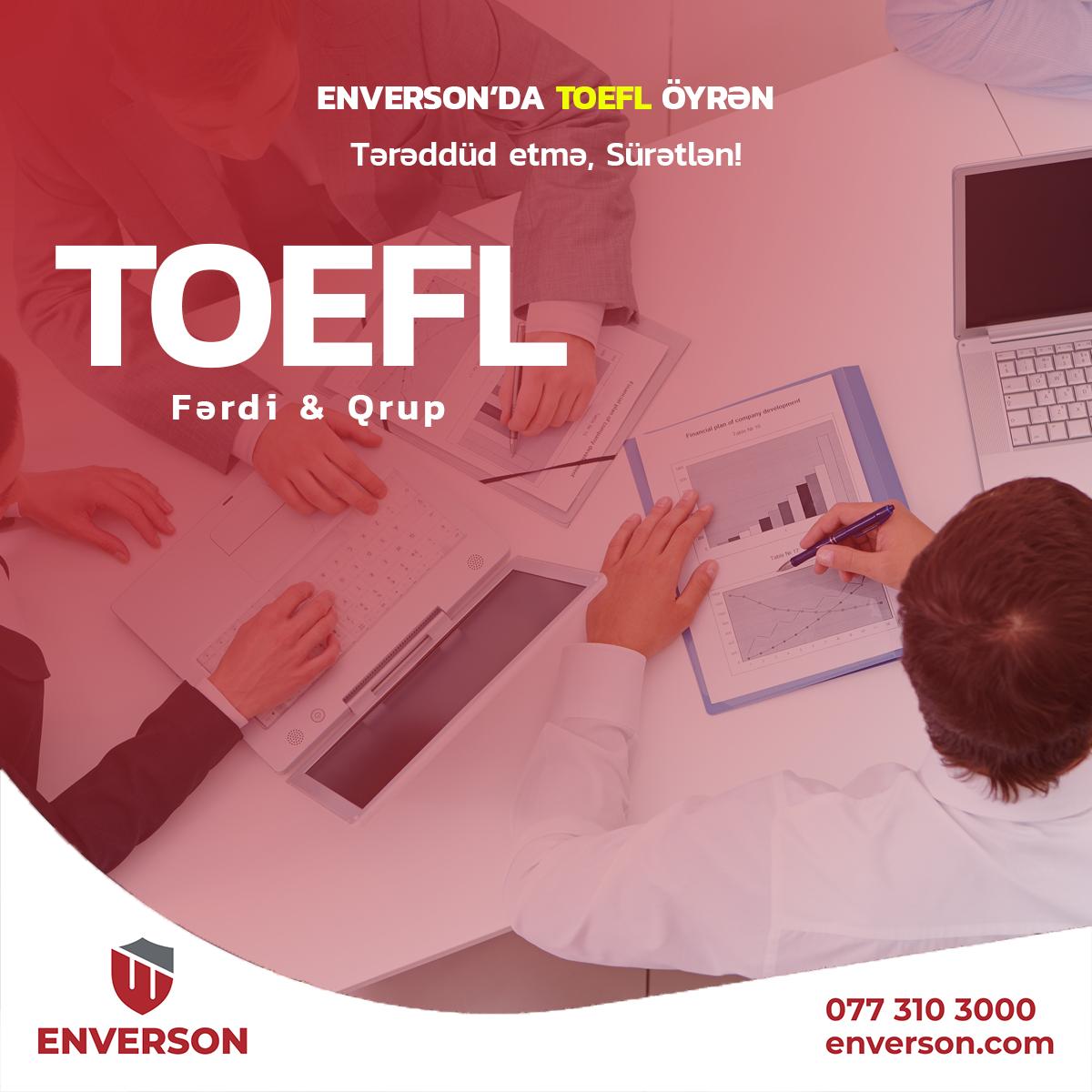 TOEFL kursları