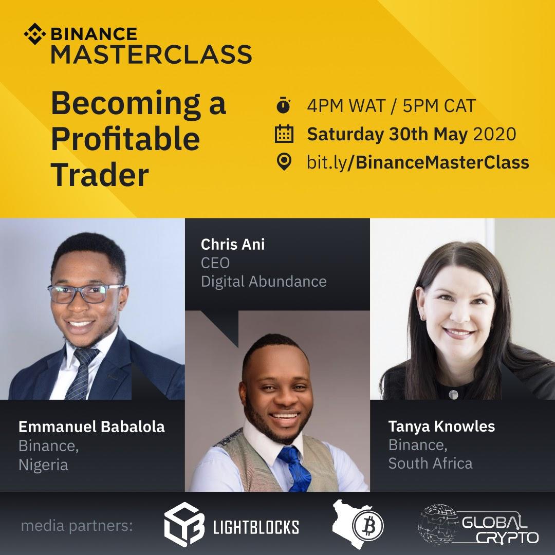 Binance Masterclass: Becoming A Profitable Crypto Trade