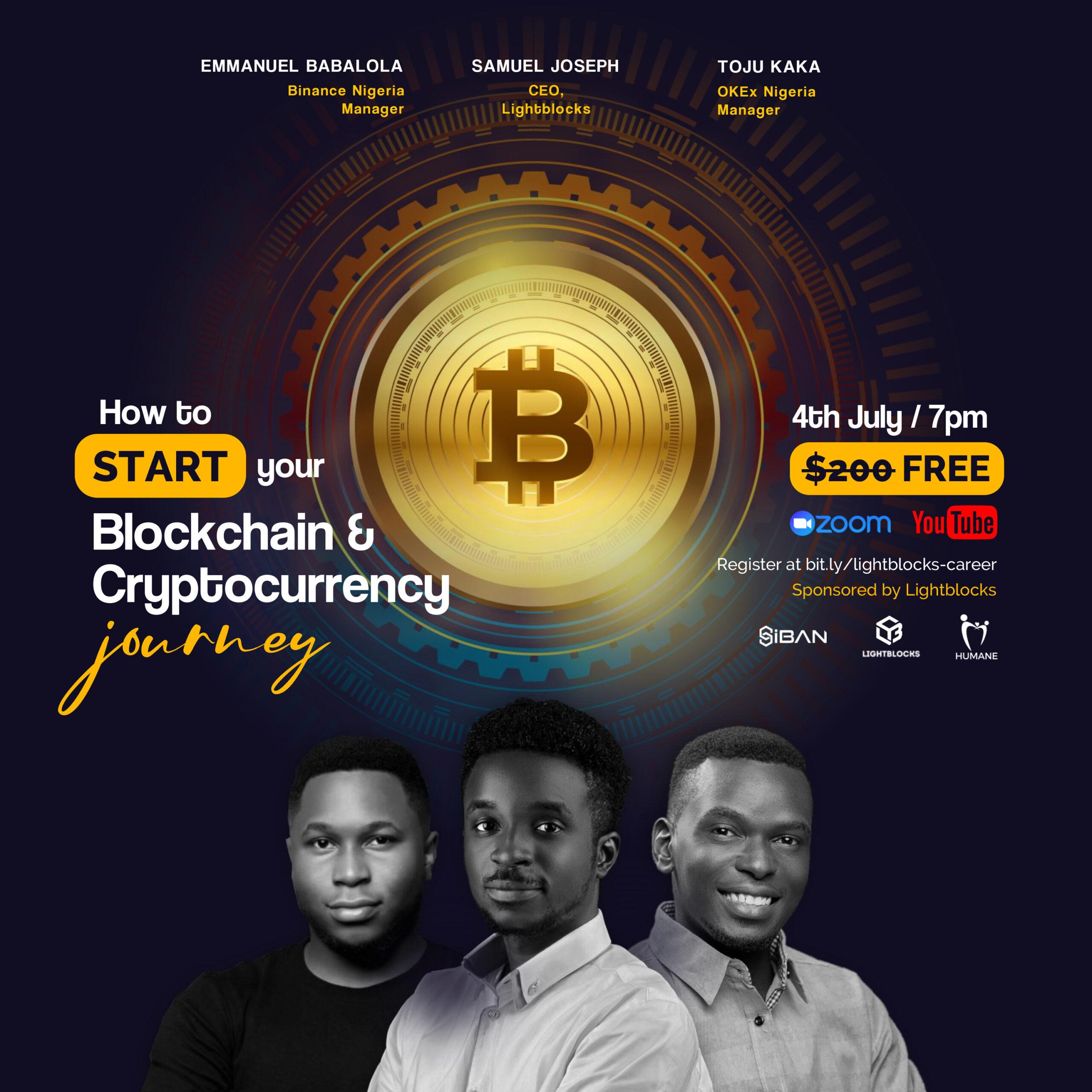 how to start your blockchain career with samuel joseph