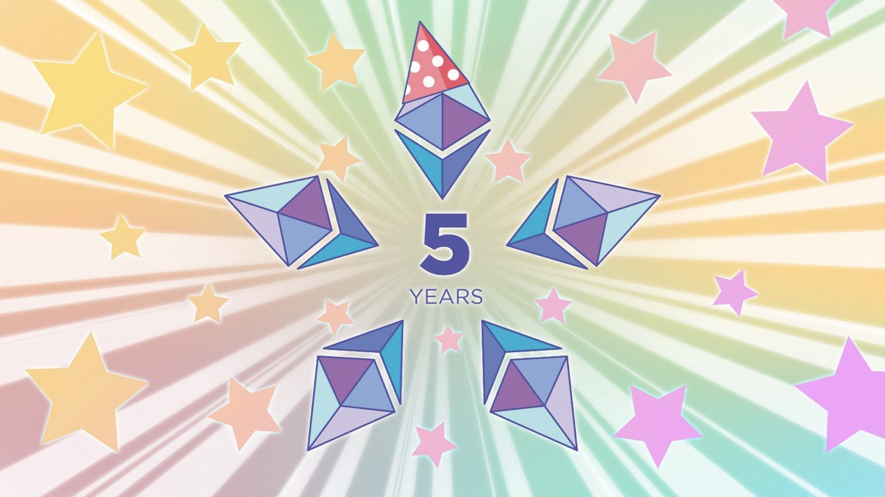 Ethereum's Journey So Far as It Turns 5
