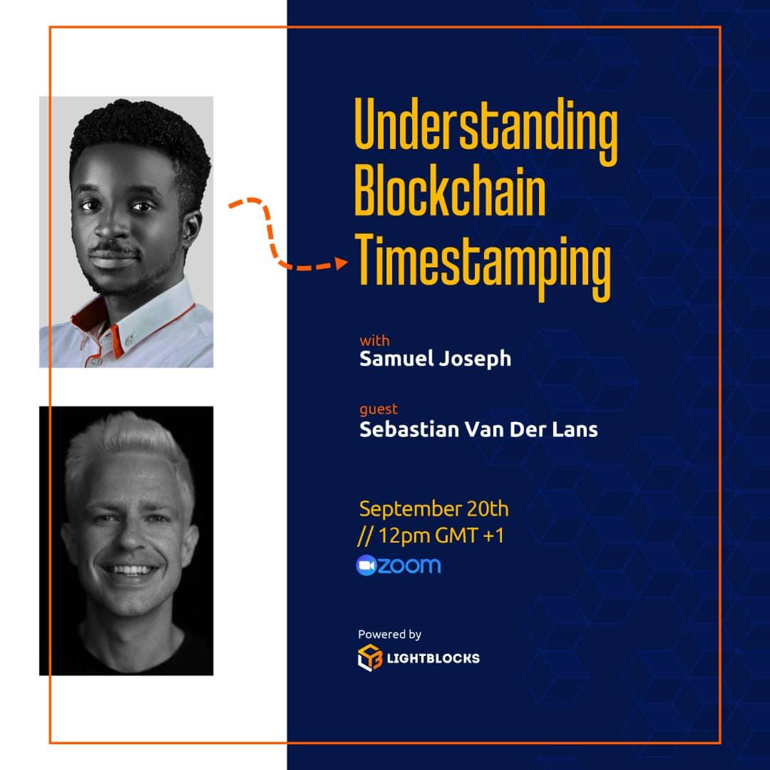 Understanding Blockchain Time Stamping with Samuel Joseph