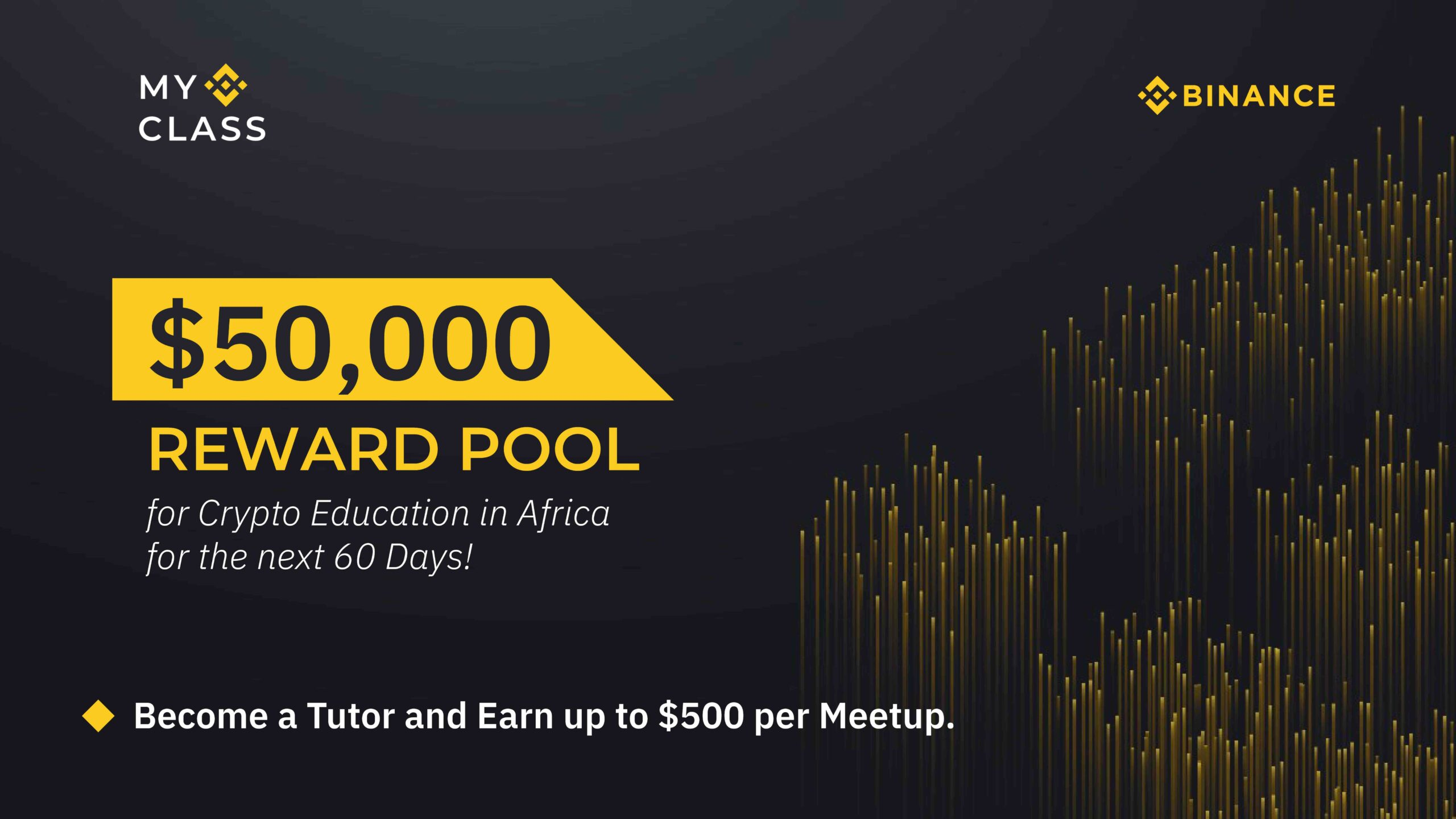 Earn up to $500 as a Crypto Educator in the #MyBinanceClass Event