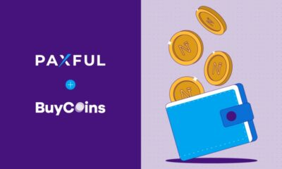 Paxful Partners with BuyCoins to List Naira Stablecoin (NGNT)