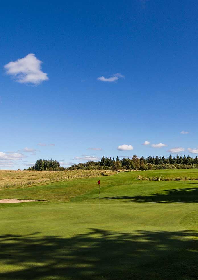 Harburn Golf 10th Green