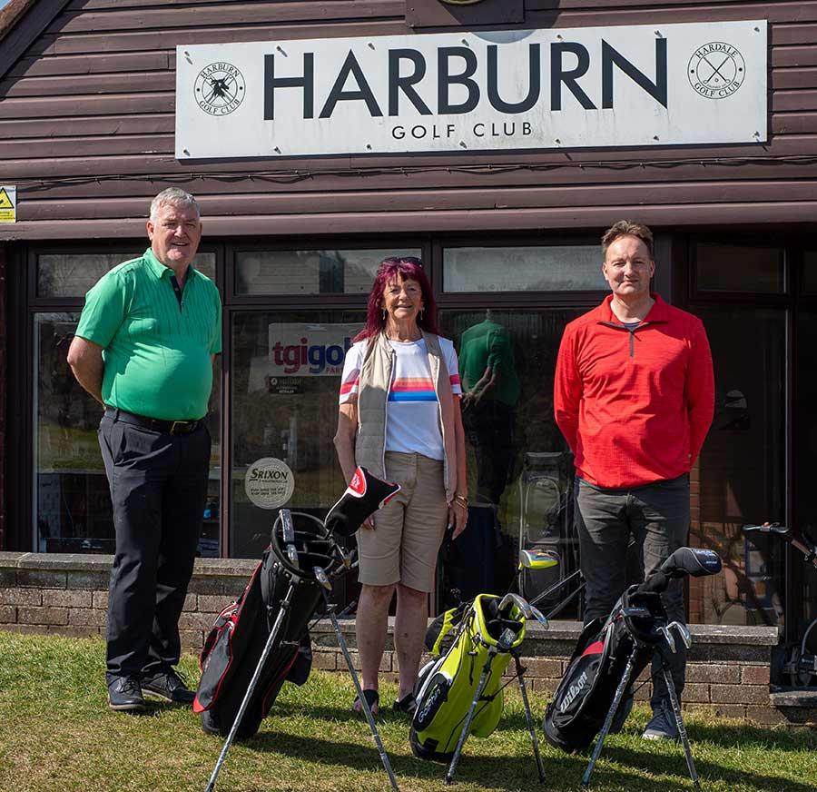 Harburn golf course Juniors Coaching