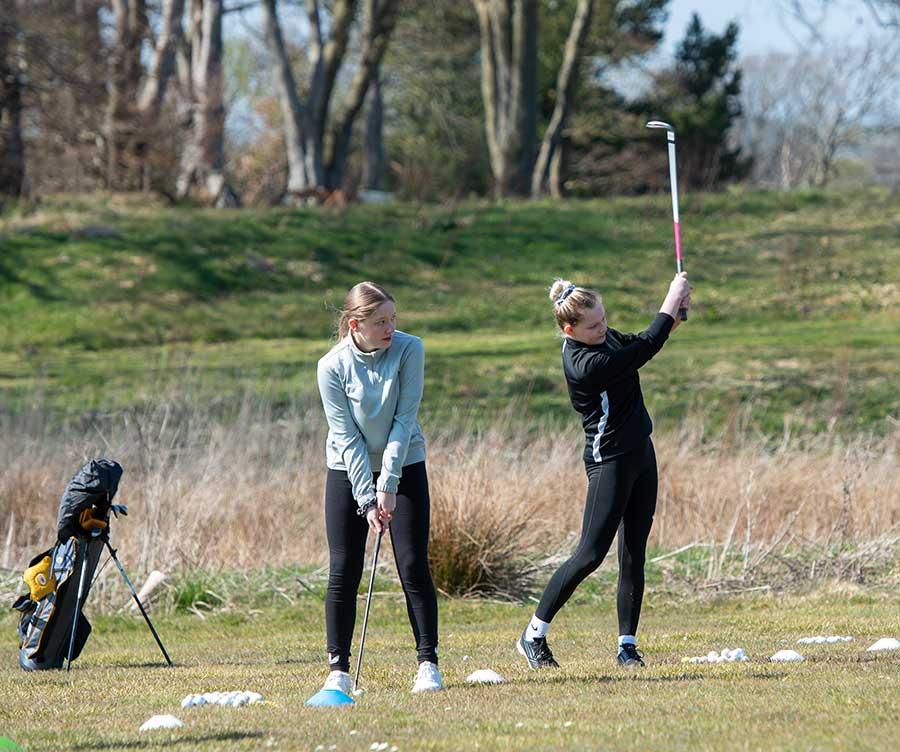 Harburn golf course Juniors