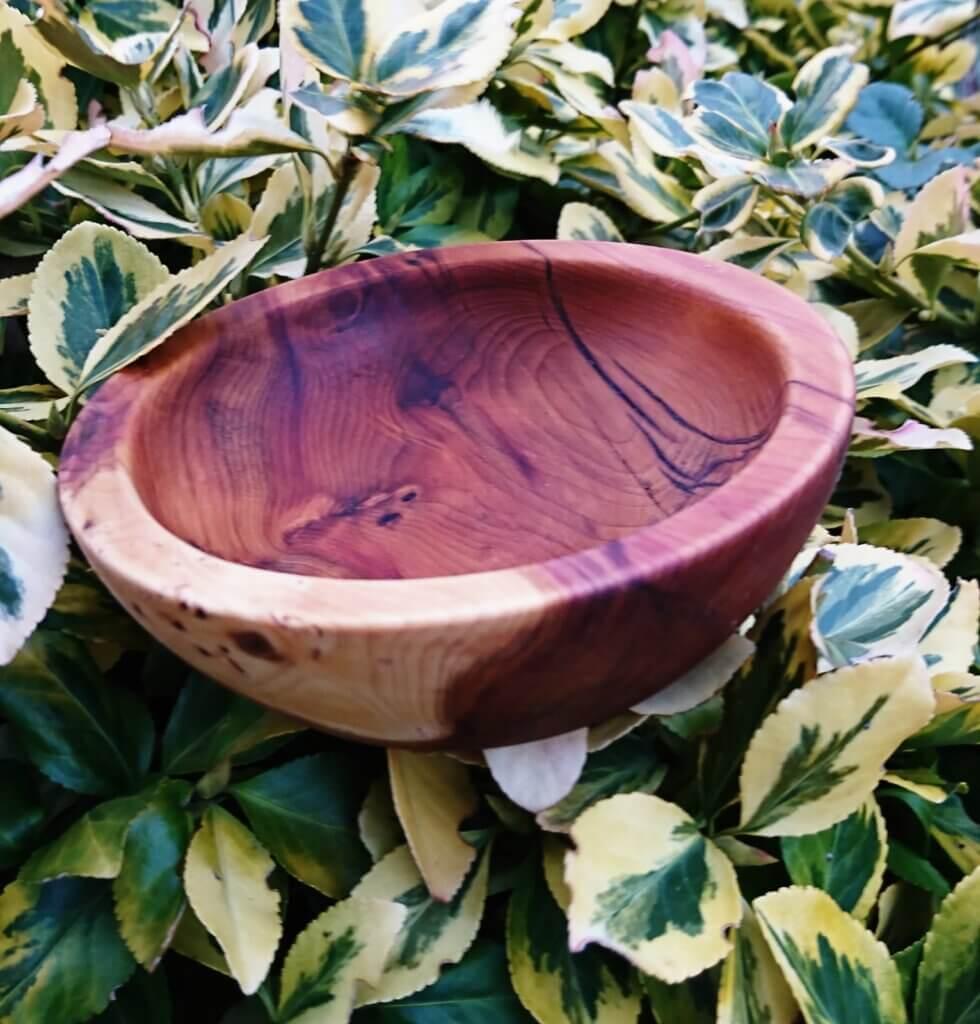 Laburnham turned bowl