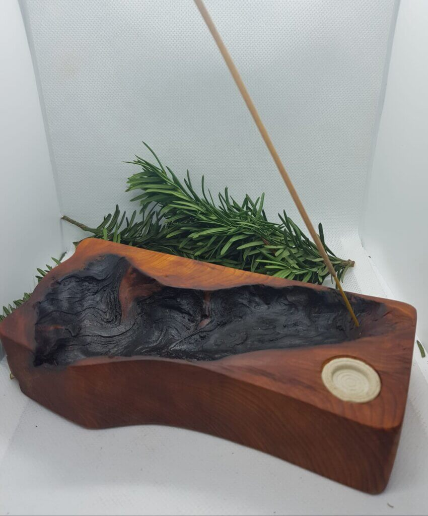 Incense stick and cone holder