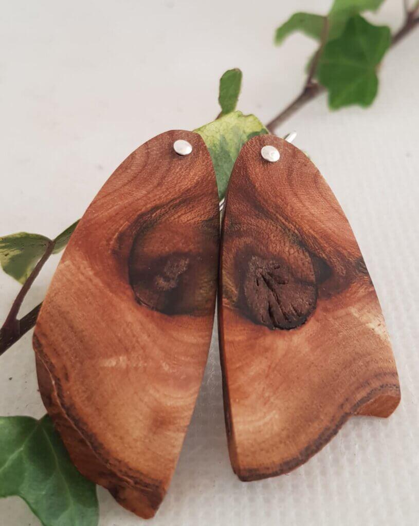 Elm Burr earrings