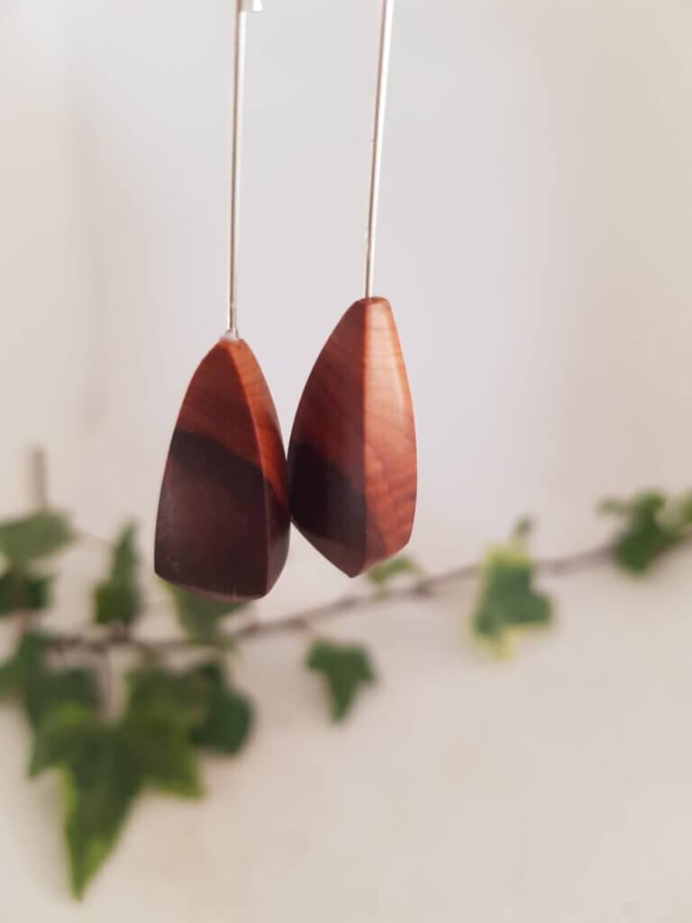 Yew earrings
