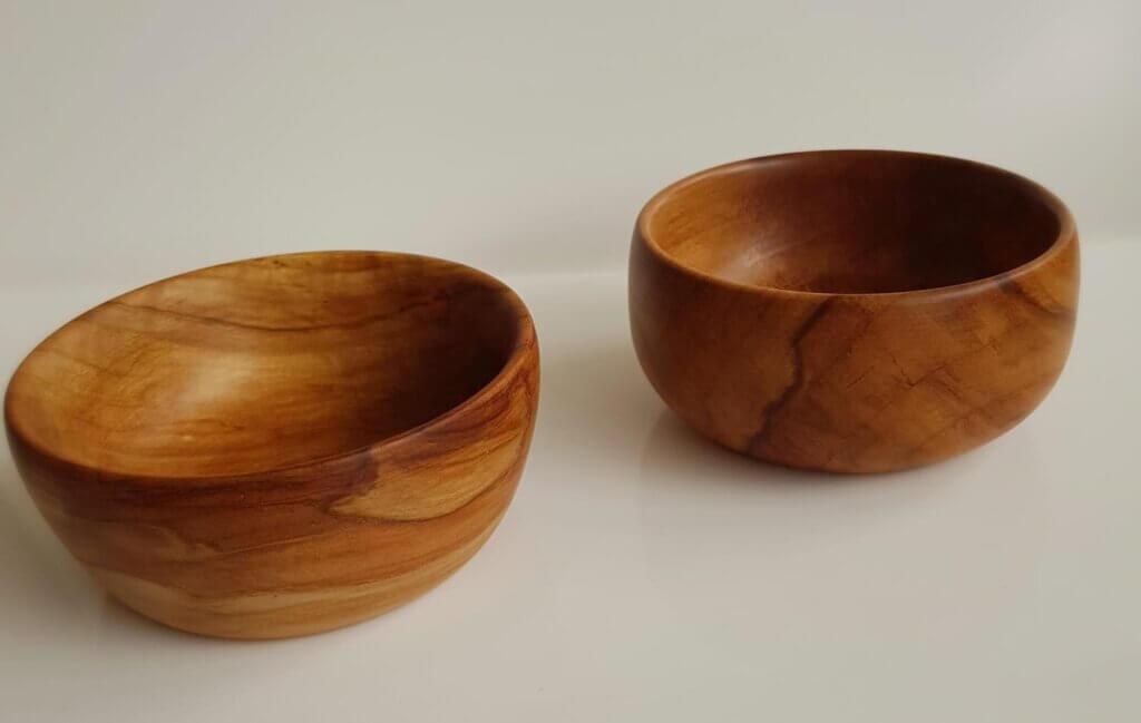 Chestnut turned bowls