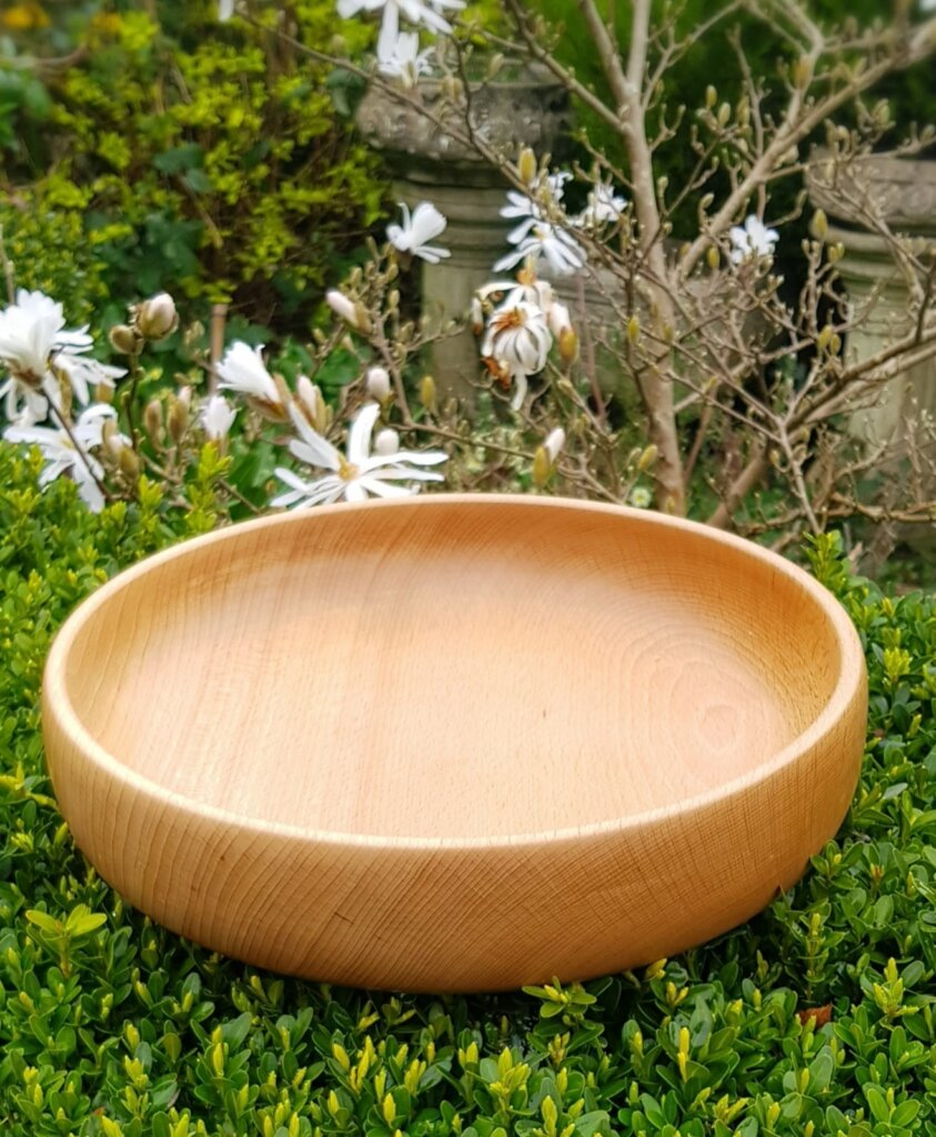 Large Beech Salad bowl