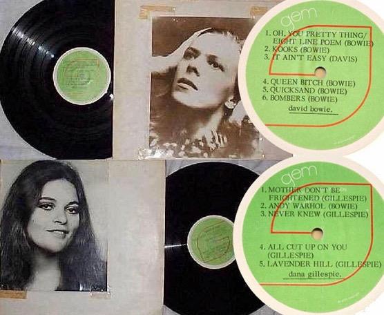 David Bowie Dana Gillespie Promo 1971