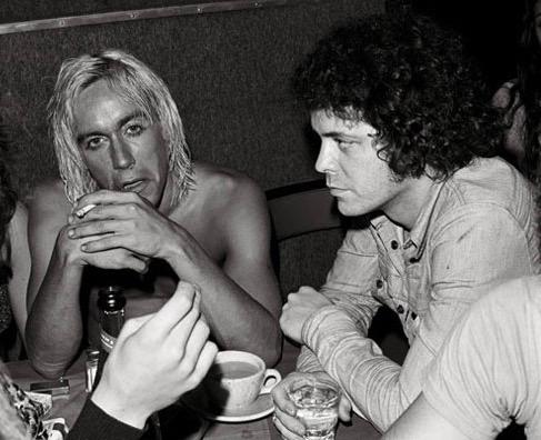Iggy and Lou at Max's.