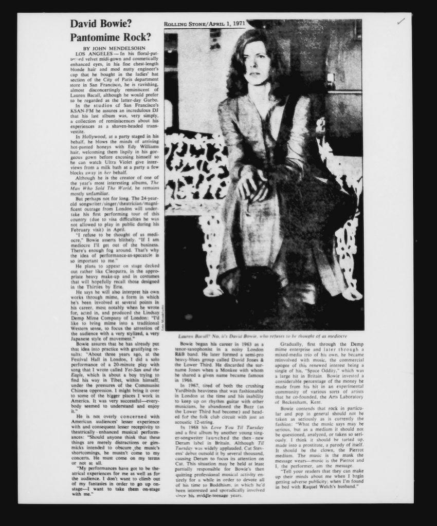 Rolling Stone magazine April 1971