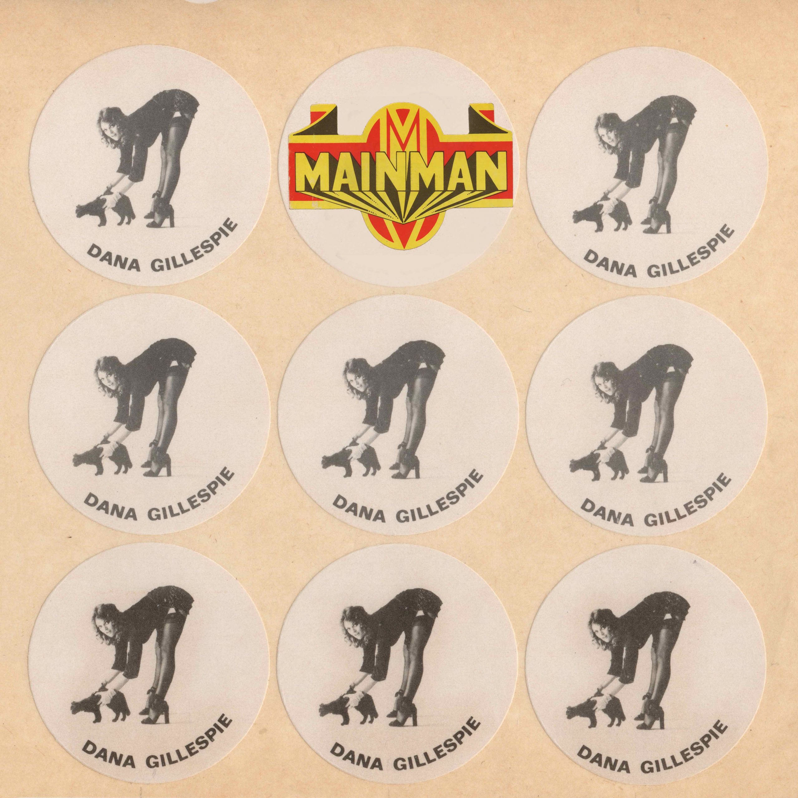 Dana circle stickers cat lolores