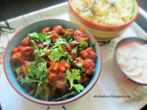 Soya chunks dry masala – சோயா சங்ஸ் மசாலா