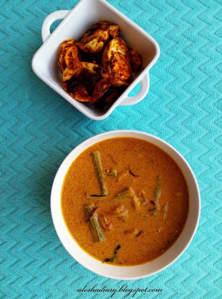 What I cooked Today? – Murungakkai Thengapal aanam (முருங்கைக்காய் தேங்காய்ப்பால் ஆணம்)- Drumstick coconut milk curry