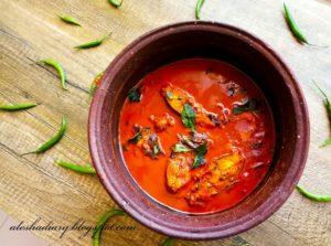 Meen thengapal kuzhambu-மீன் தேங்காய்ப்பால் குழம்பு – Fish in  coconut milk curry-What I cooked Today?