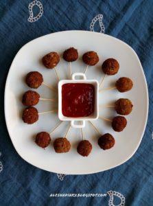 What I made for tea time snacks? – Vazhaipoo kola urundai(வாழைப்பூ கோலா உருண்டை) – Banana blossom balls