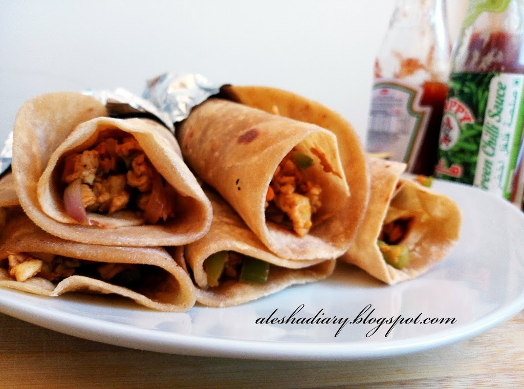 Paneer Rolls – பனீர் சப்பாத்தி ரோல் – Paneer Chapati Rolls