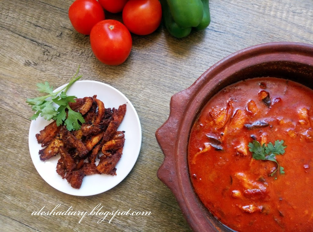 Nethili (Anchovies)Fish curry – Netholi Fish curry Recipe – நெத்திலி மீன் குழம்பு (Nethili meen Kuzhambu)