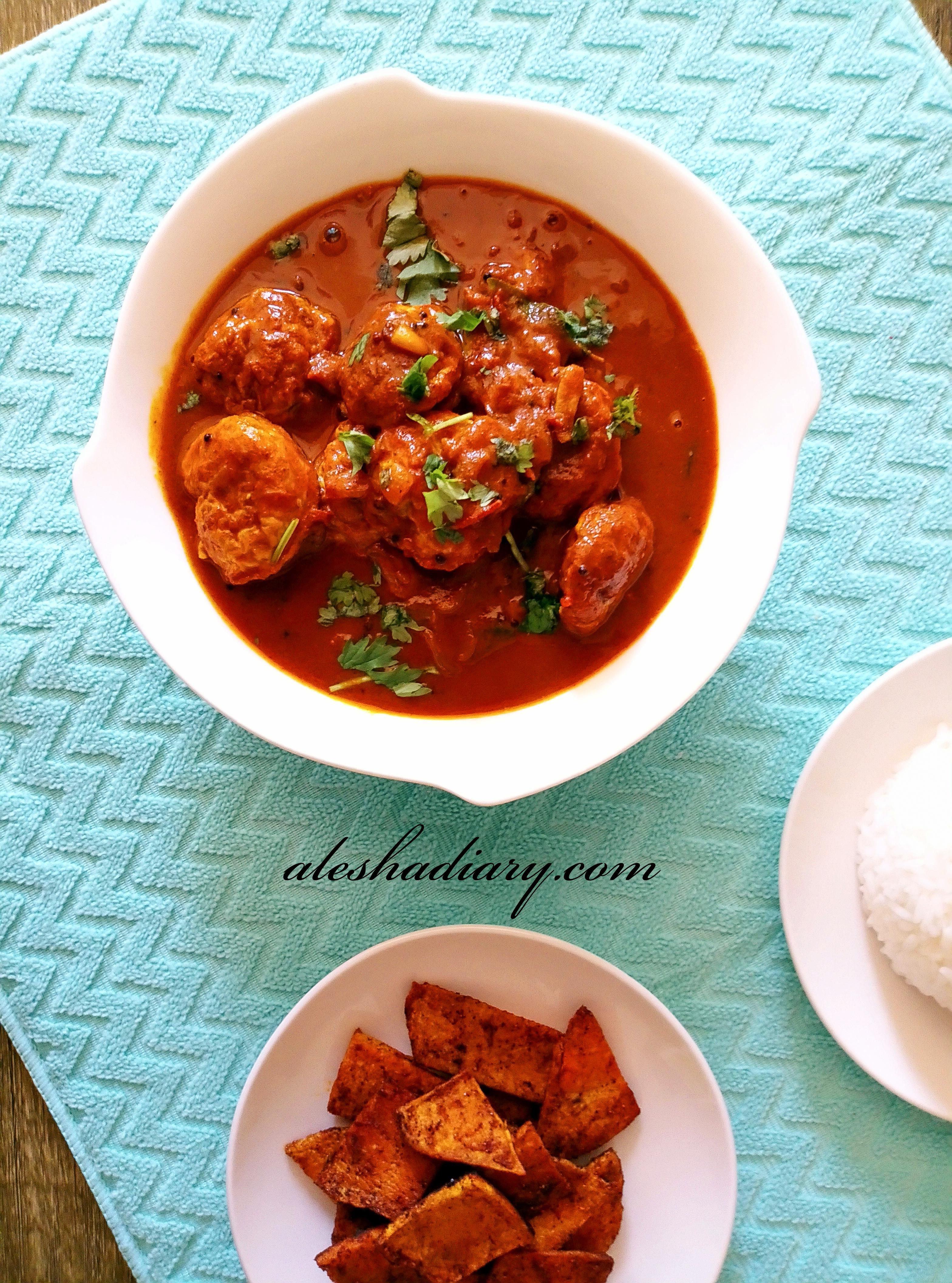 Muttai Urundai Puli Kuzhambu – Egg balls in tamarind gravy – முட்டை உருண்டை புளி குழம்பு