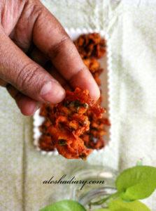 ONION PAKODA – ONION PAKORA – வெங்காய பக்கோடா