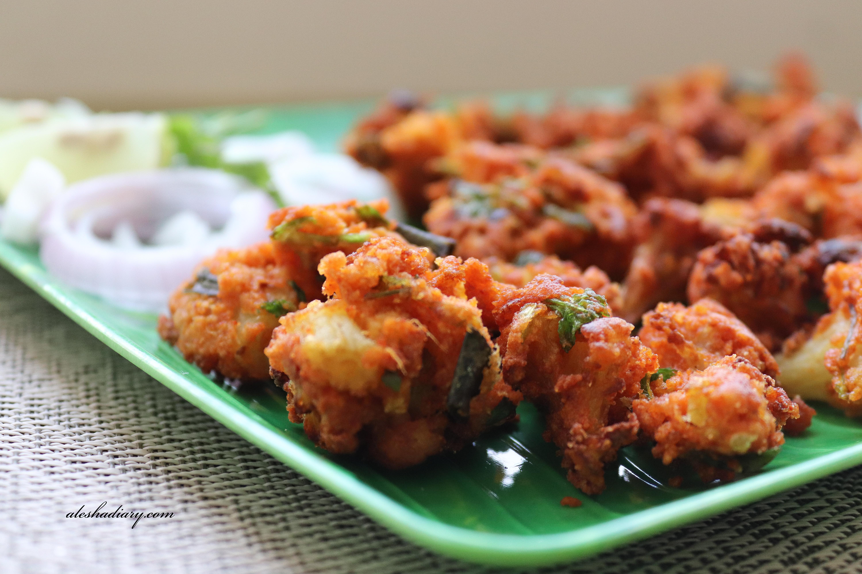 Cauliflower pakoda – Gobi pakora