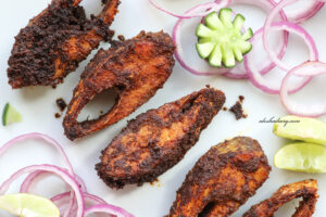 Spicy Tawa Fish Fry