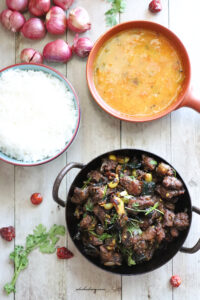Mutton uppu kari – Chettinad mutton recipe