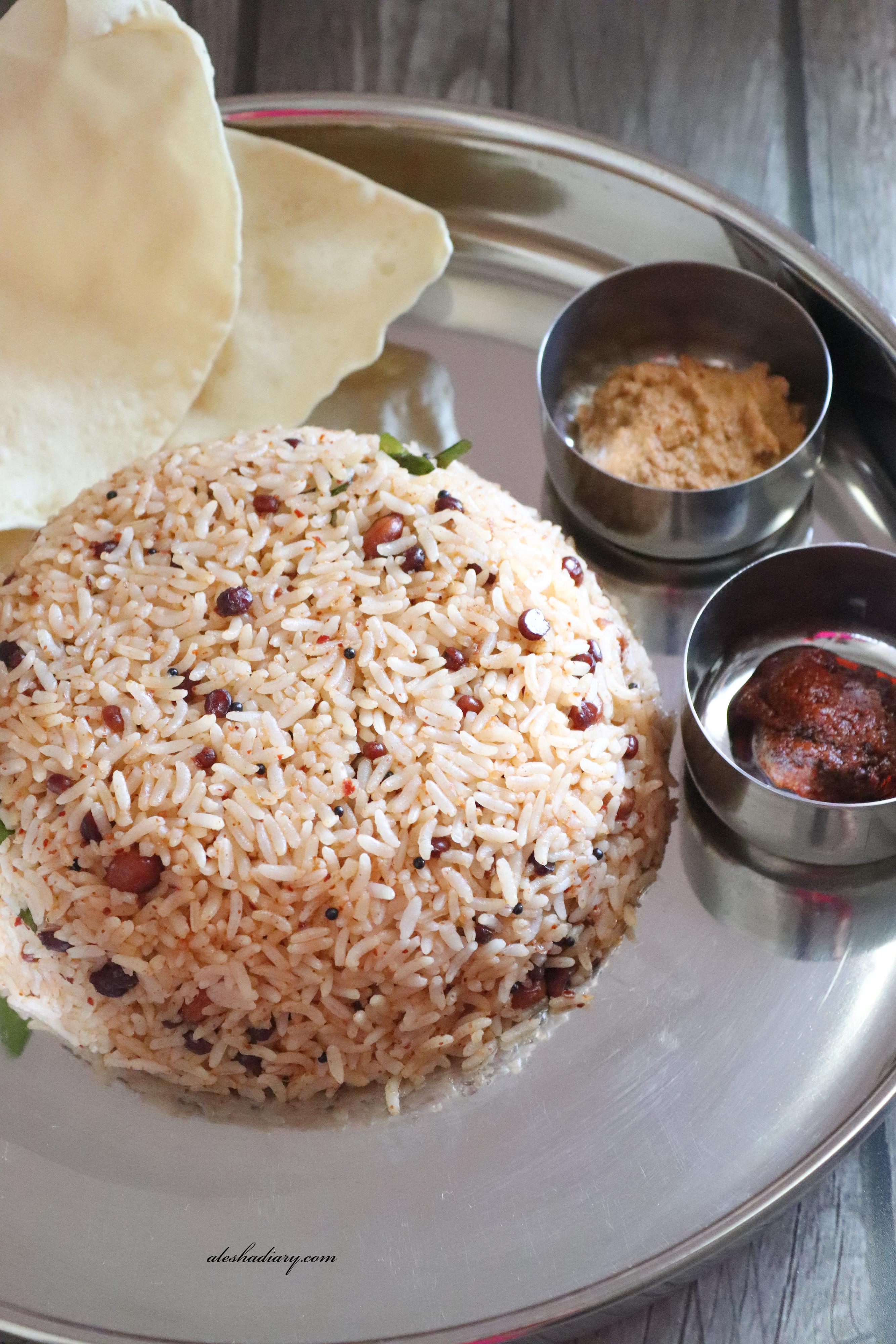 Puliyodharai -Tamarind Rice – Puli Sadam – How to make Puliyodharai