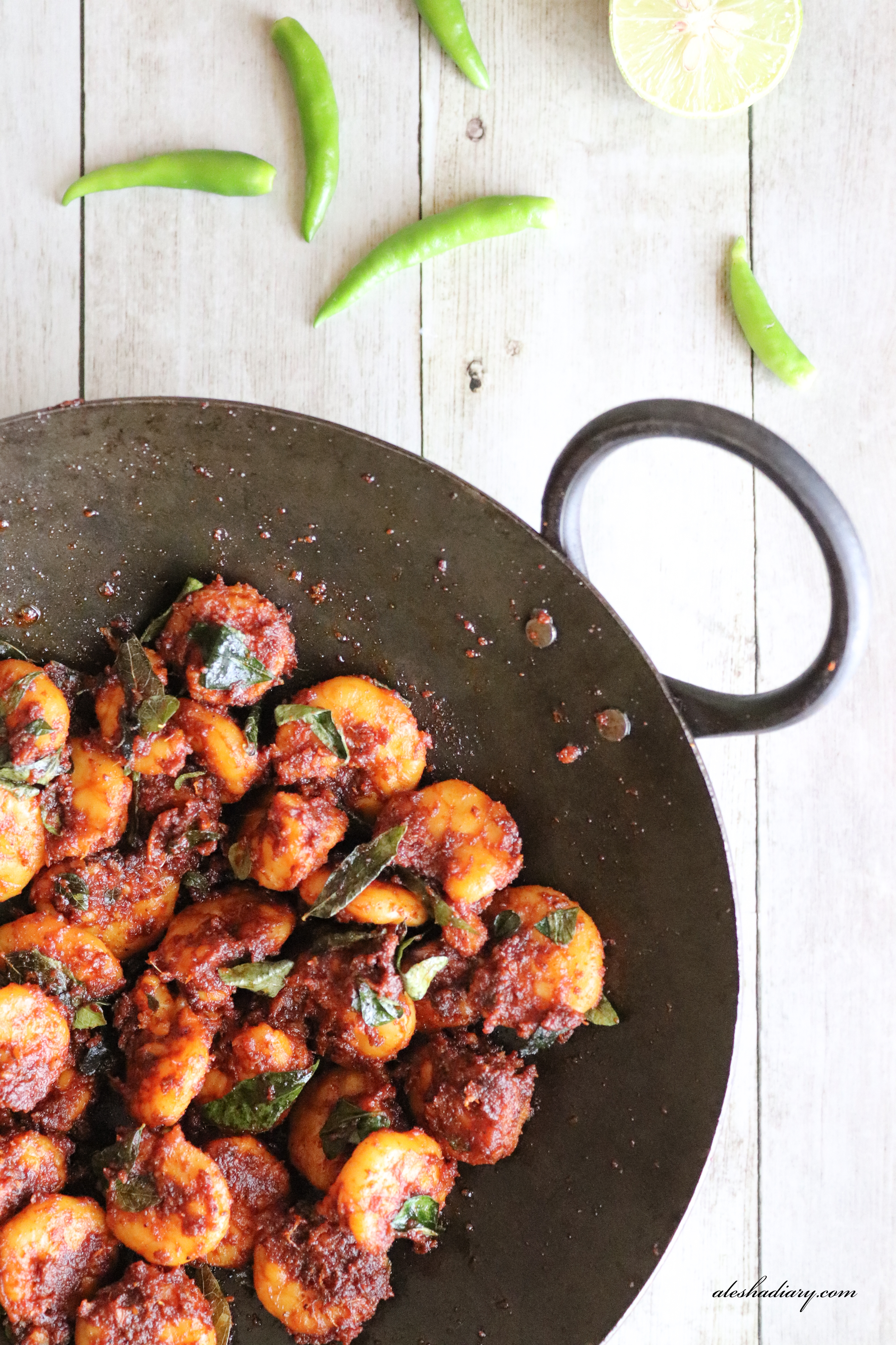 Chemmeen Varuthathu – Kerala Prawn Fry