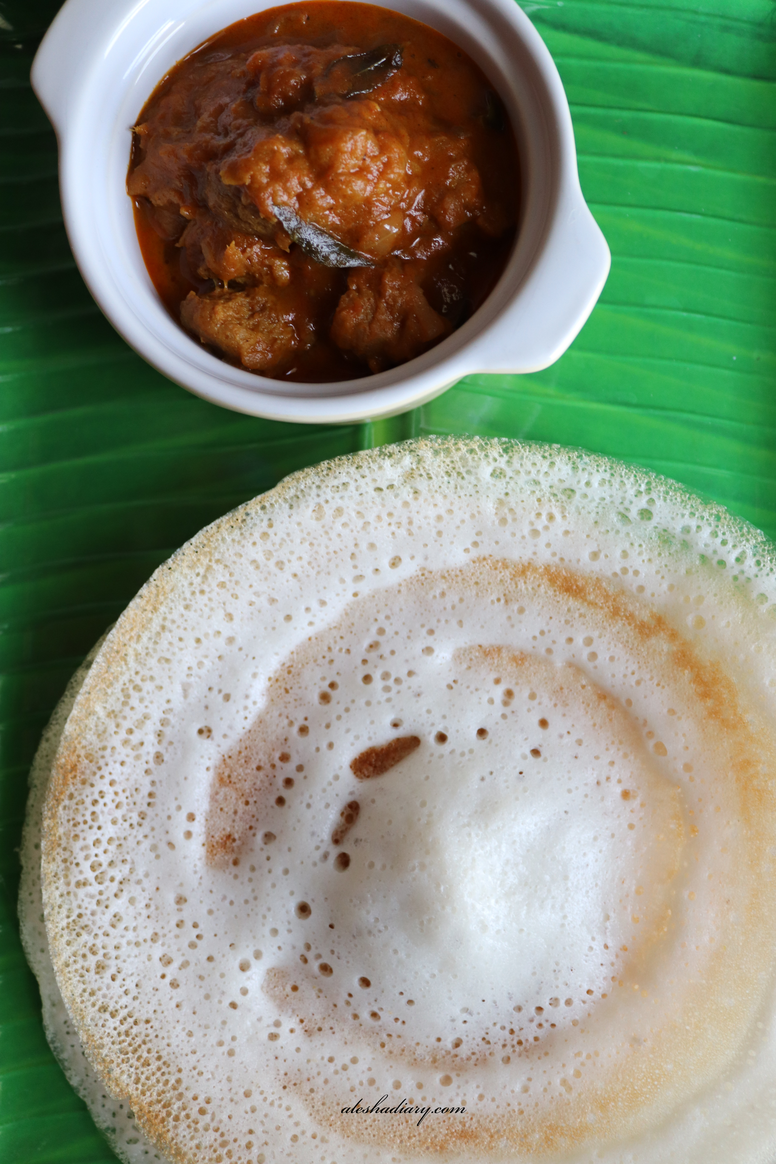 Appam – Appam without yeast and coconut