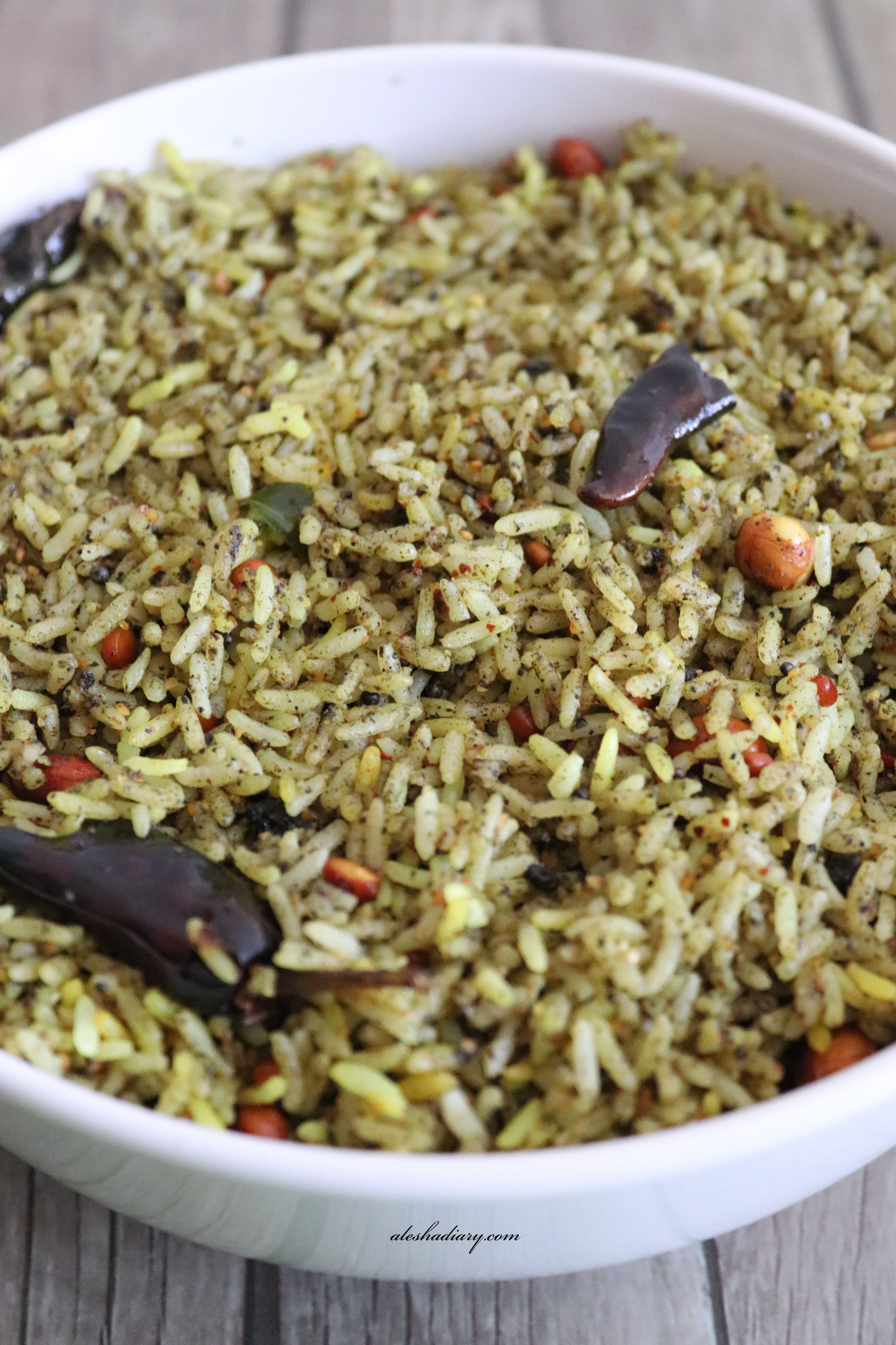 Ellu Sadam – Sesame seed(til) Rice – எள்ளு சாதம்