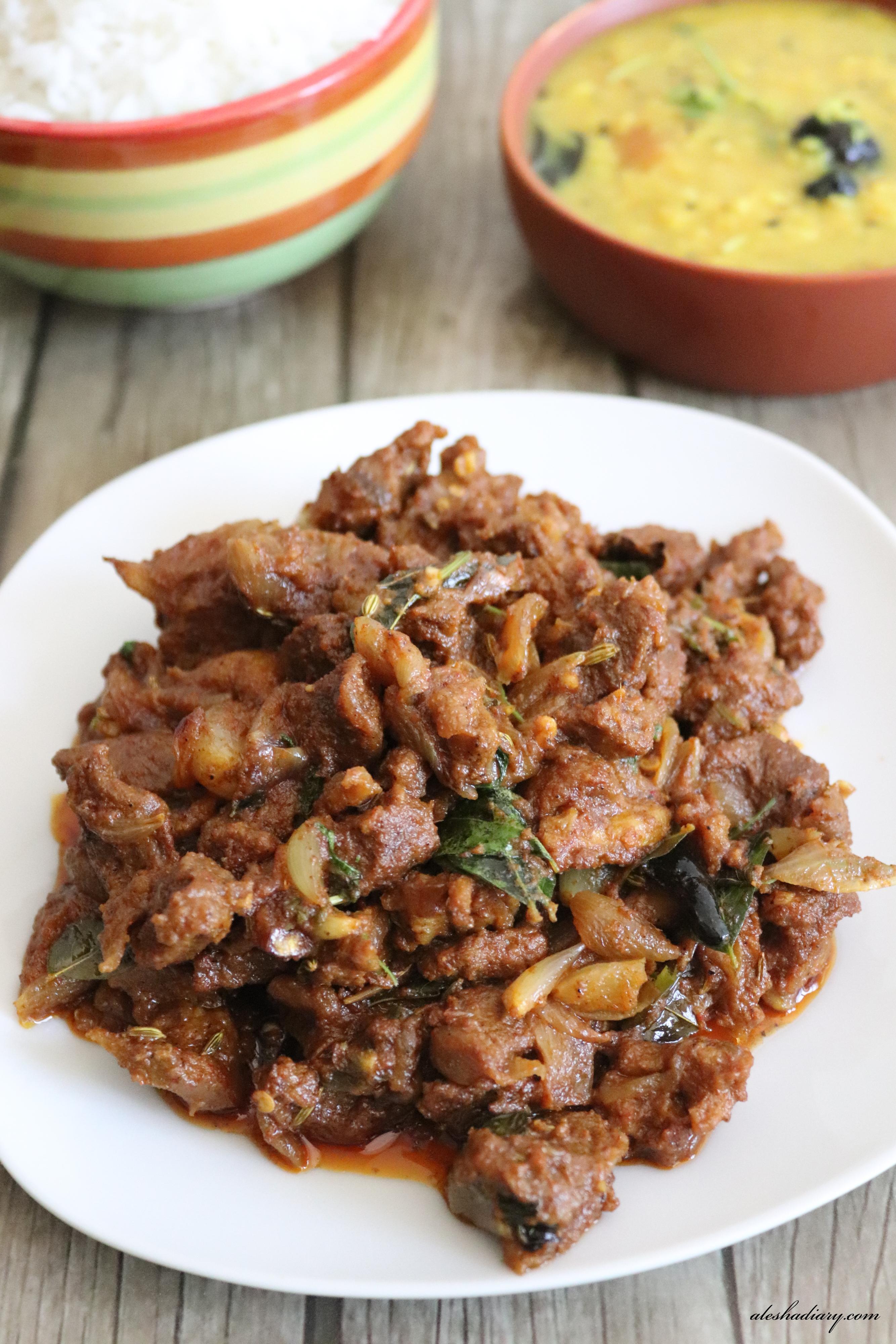 Madurai Mutton Sukka – மதுரை மட்டன் சுக்கா