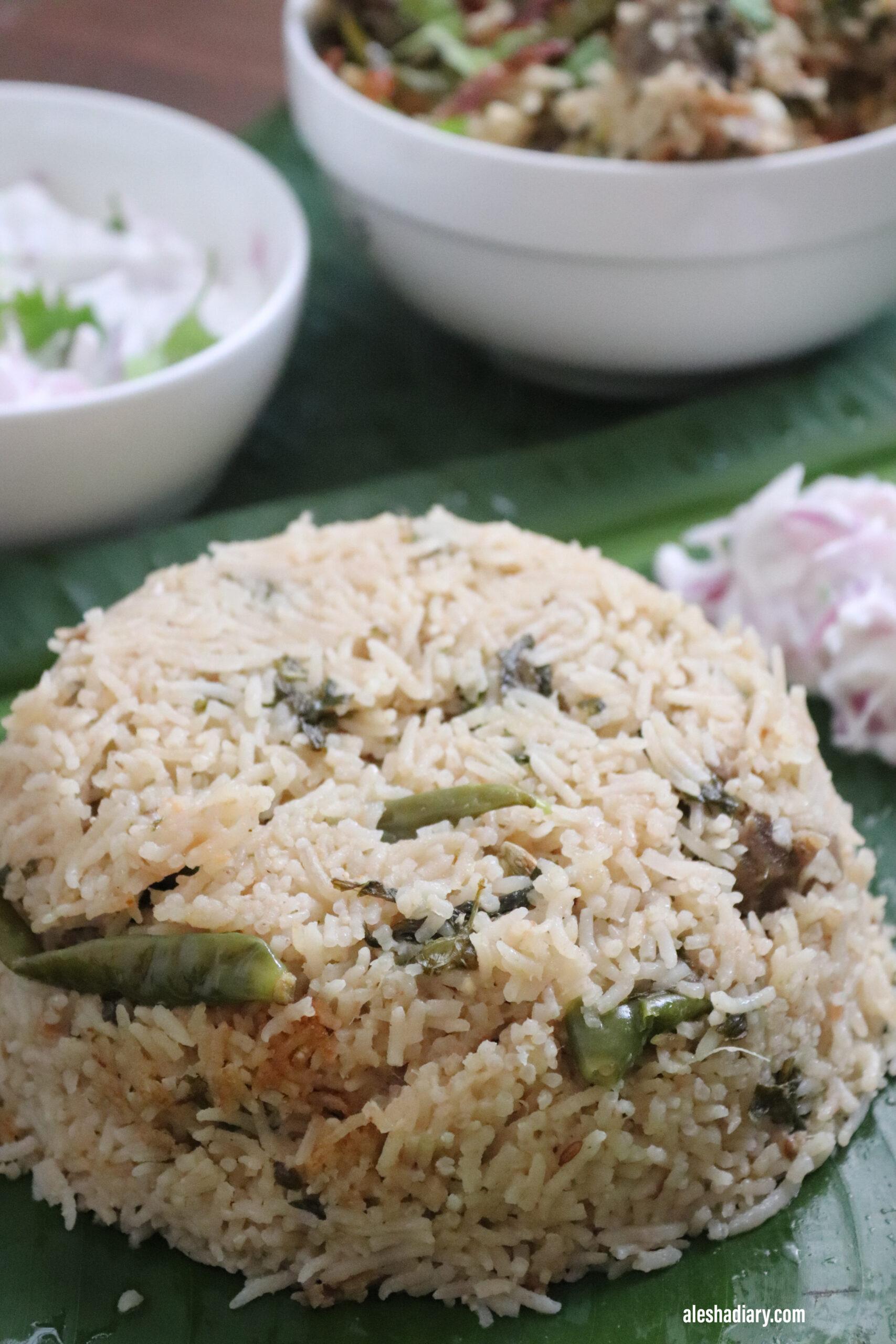 White Mutton Pulao – Mutton Yakhni Pulao – மட்டன் புலாவ்