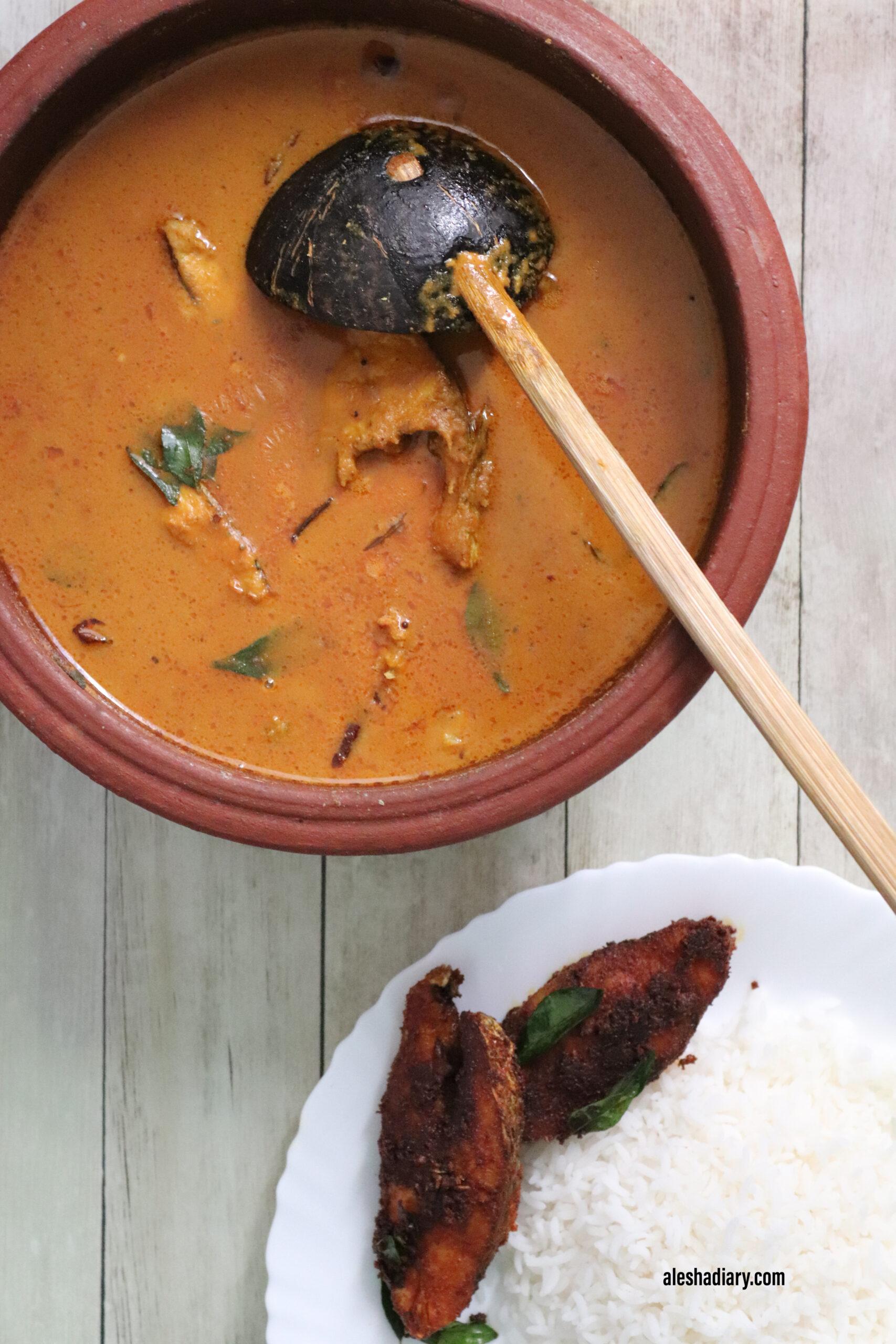 Chettinad Fish Curry – Chettinad meen kuzhambu